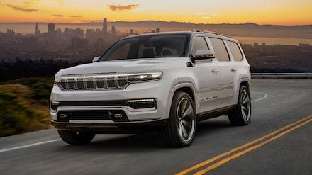 2021 Jeep Wagoneer The All New Jeep Grand Wagoneer Coming Soon!!! SUV