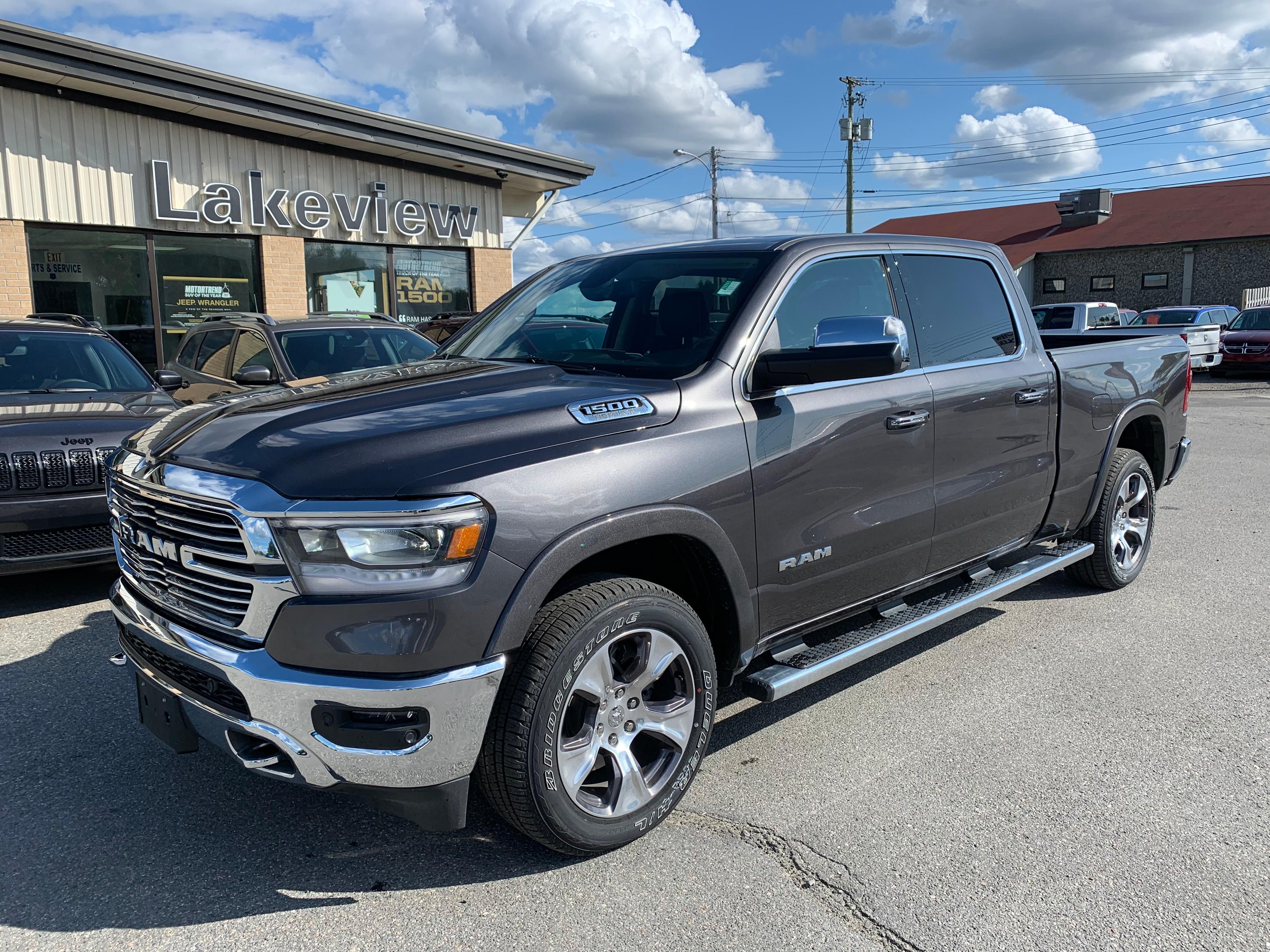 2019 Ram **DEMO** All-New 1500 Laramie Crew Cab
