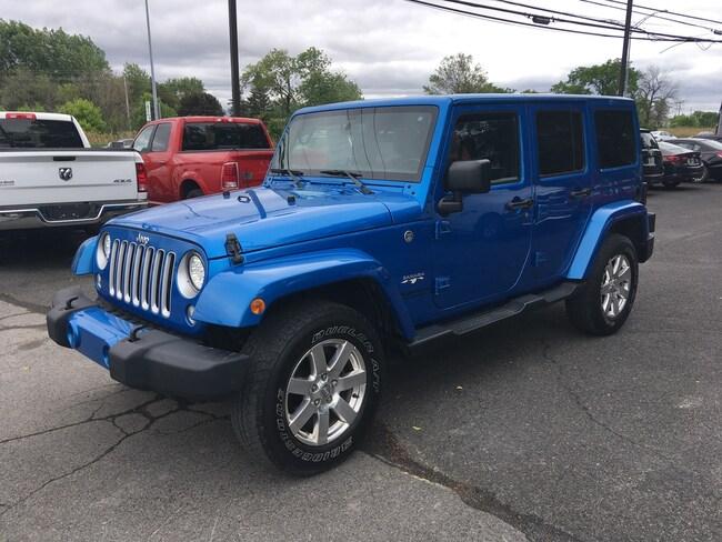 2016 Jeep Wrangler Unlimited Sahara, 2 Toits ,GPS, AUT VUS