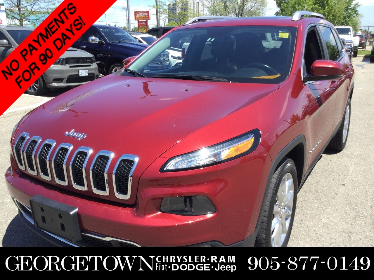 2015 Jeep Cherokee Limited LIMITED LEATHER PANO SUNROOF SUV