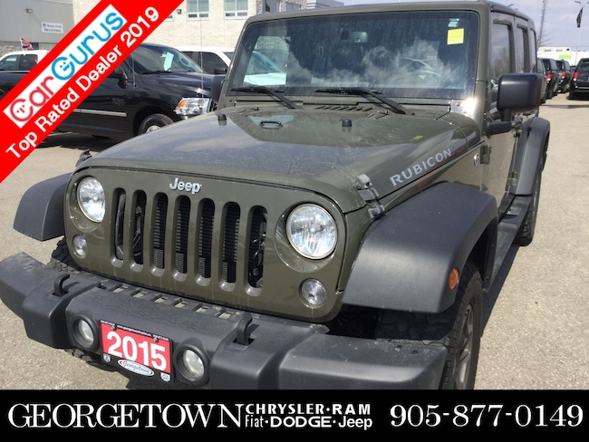 2015 Jeep Wrangler Unlimted Rubicon