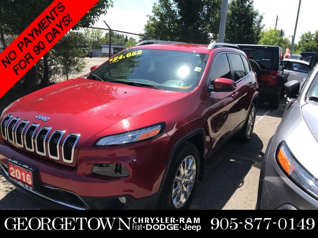 2016 Jeep Cherokee Limited SUV