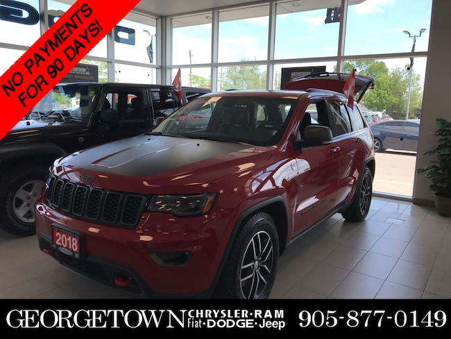 2018 Jeep Grand Cherokee TRAILHAWK WITH LUXURY GROUP SUV