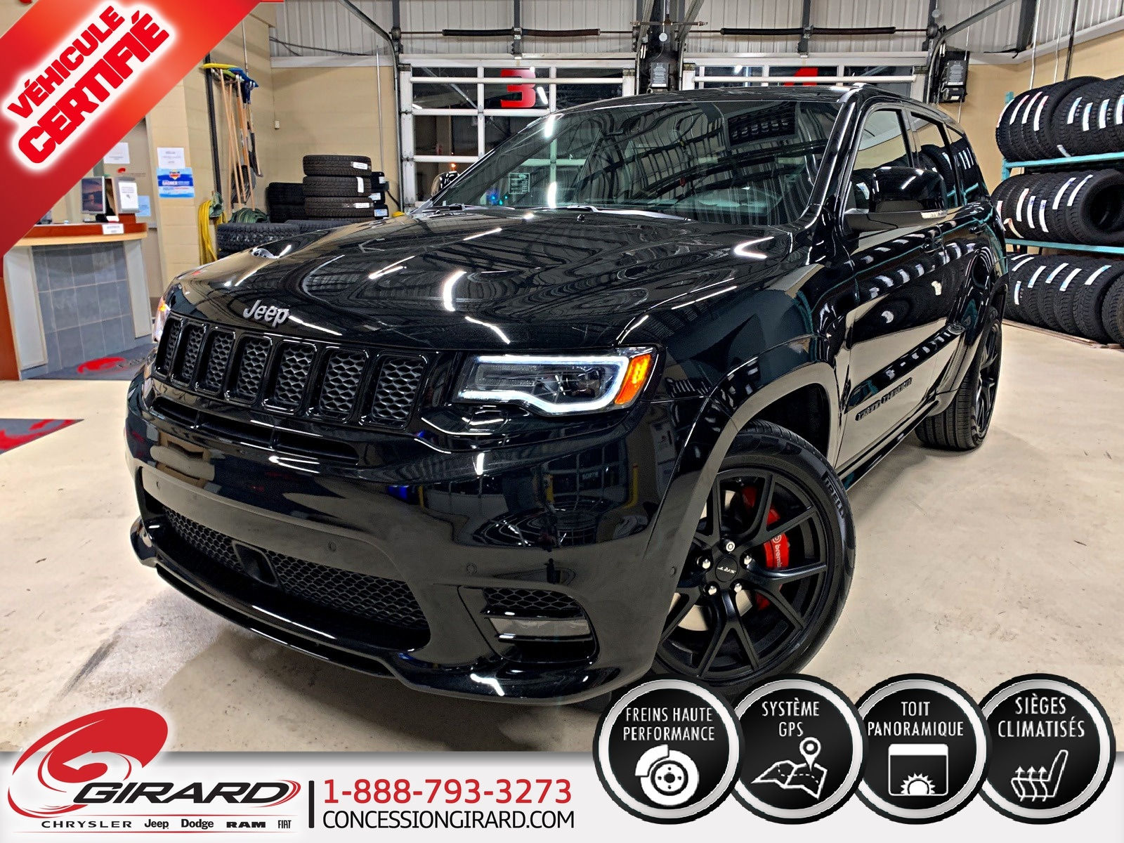 Jeep Grand Cherokee SRT-8*ALL BLACK*FULL*NAV*AUDIO HARMAN/KARDON* 2019