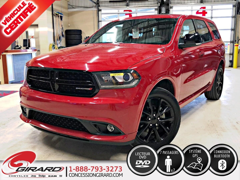 Dodge Durango GT*BLACKTOP*DVD*TOIT*GPS*7 PASSAGERS* 2018