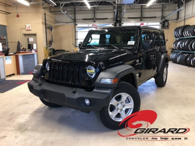 2018 Jeep All-New Wrangler Unlimited Sport S VUS