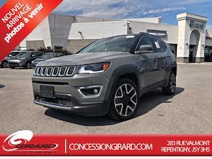 2019 Jeep Compass Limited *GPS+GROUPE SÉCURITÉ+PHARES BI-XENON** VUS