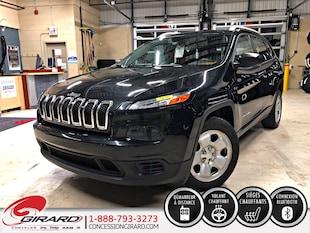 2016 Jeep Cherokee SPORT*VOLANT+SIÈGES CHAUFFANTS*1 PROPRIO*DÉMARREUR* VUS