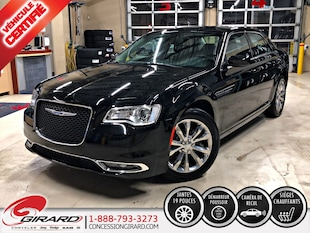 2018 Chrysler 300 TOURING-L*AWD*V6*CUIR*CAMÉRA*DÉMARREUR*CARPLAY Sedan