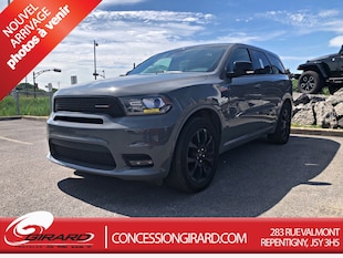 2019 Dodge Durango GT*AWD*CUIR*DVD*TOIT OUVRANT*7 PASSAGERS* SUV