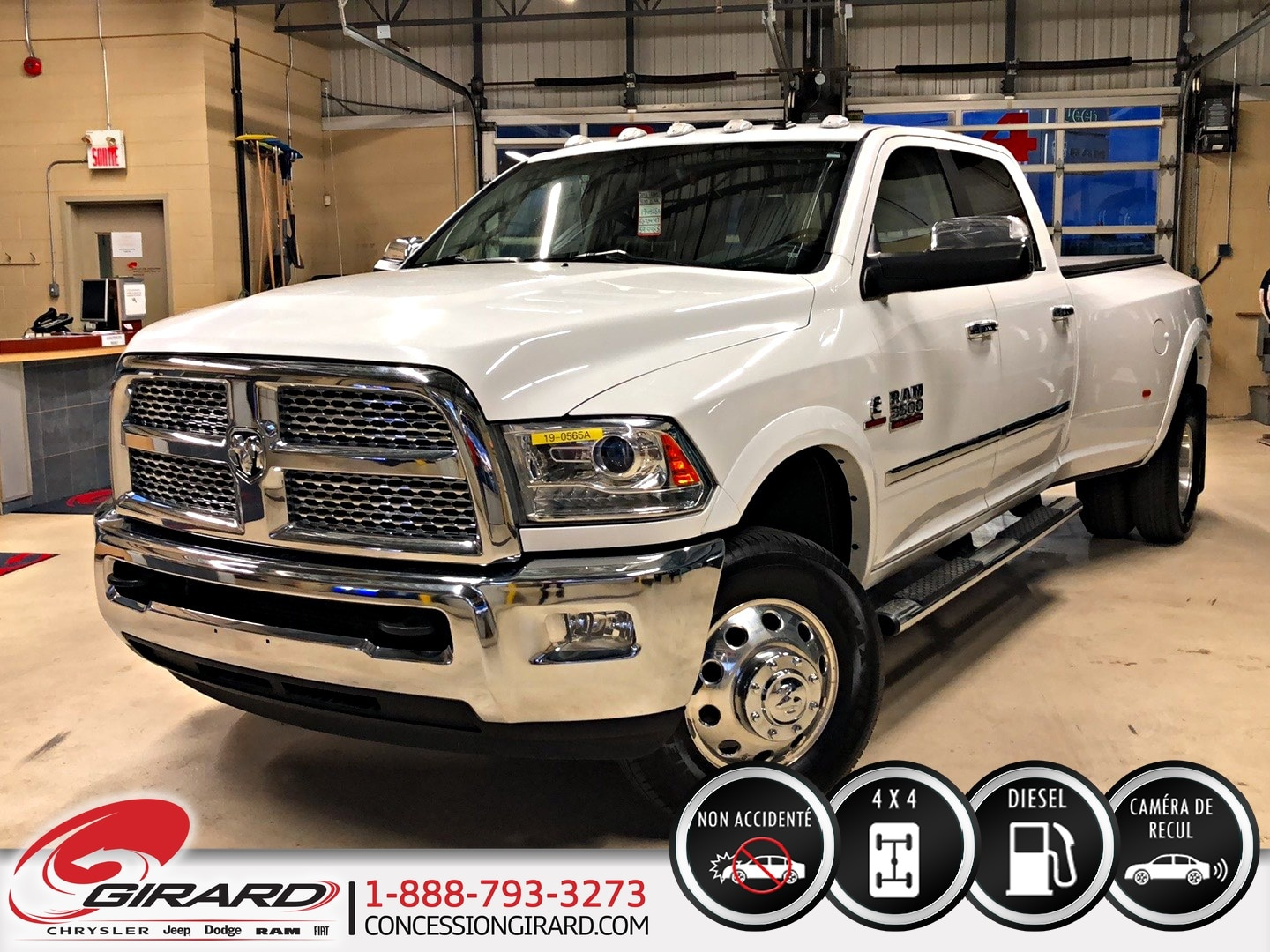 Pre Owned 2016 Ram 3500 For Sale At Des Sources Dodge Chrysler Ltee