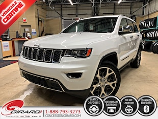 2019 Jeep Grand Cherokee LIMITED*NAV*TOIT*MAGS 20''*BLUETOOTH*4X4/AWD* VUS