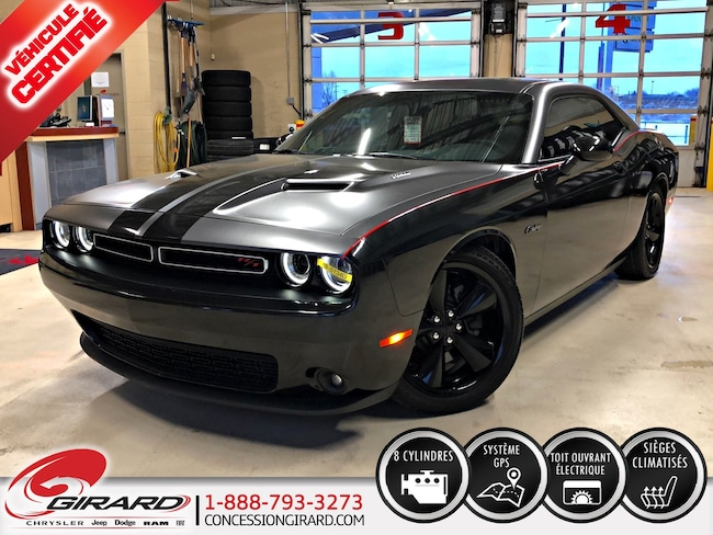 2016 Dodge Challenger R/T*V8 5.7L HEMI*WRAP COMPLET*MAGS 20''*FULL* Coupé