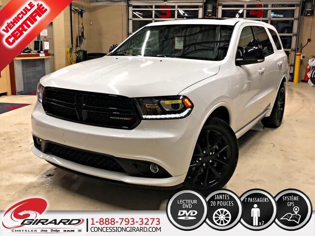 2018 Dodge Durango GT*BLACKTOP*NAV*DVD*TOIT*7 PASSAGERS* VUS