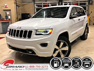 2015 Jeep Grand Cherokee OVERLAND*DIESEL*PLAN OR*TOIT PANO* VUS