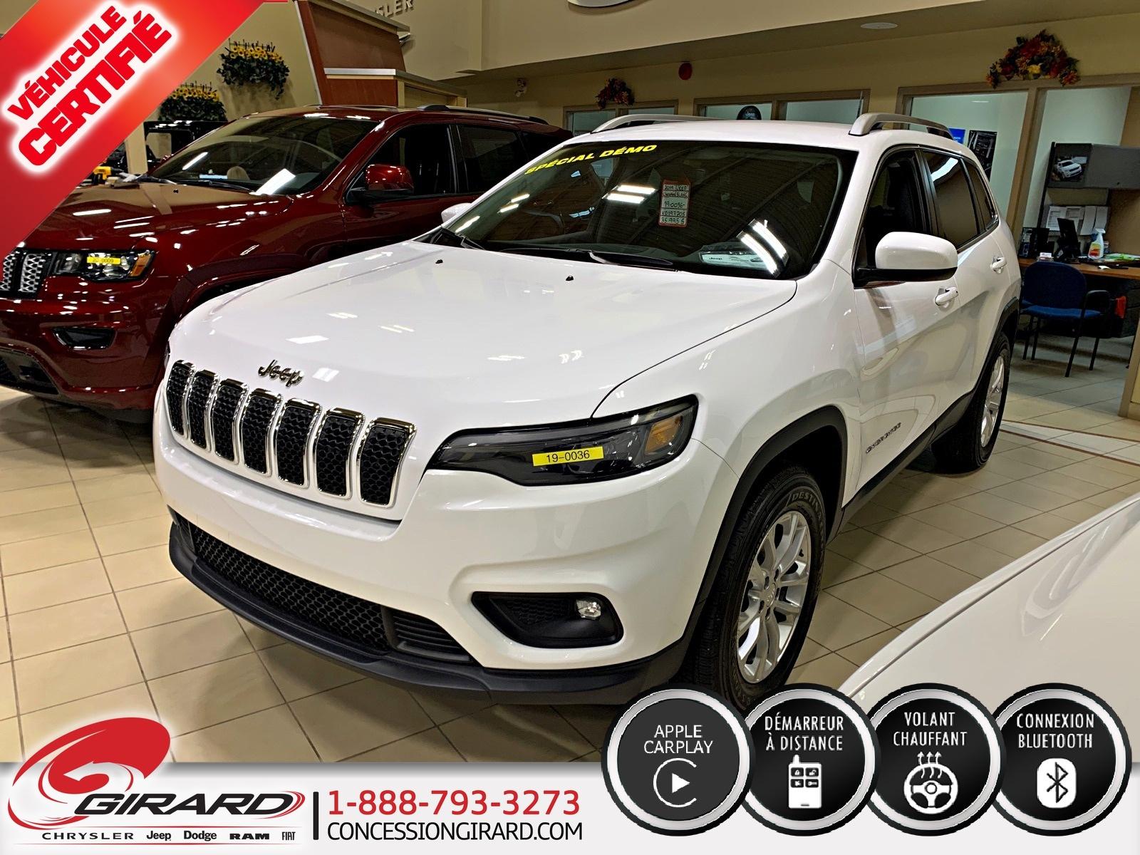 Jeep Cherokee NORTH*V6*4X4*ENS. TEMPS FROID*CAMÉRA*SIÈGE ÉL 2019