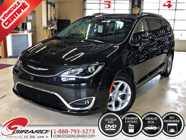 2018 Chrysler Pacifica TOURING-L PLUS*TOIT PANO*DVD*CUIR*7 PASS* Van