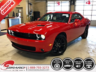 2018 Dodge Challenger SXT PLUS*BLACKTOP*TOIT OUVRANT*CUIR*SIÈGES VENTILÉ Coupé