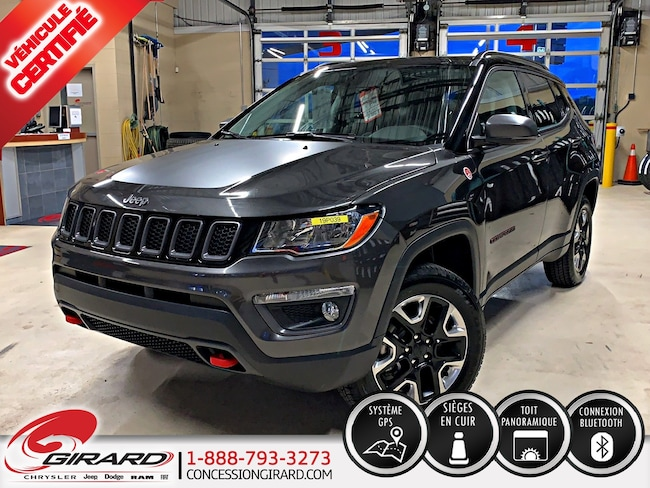 2018 Jeep Compass TRAILHAWK*TOIT PANO*CUIR*GPS*BLUETOOTH* VUS