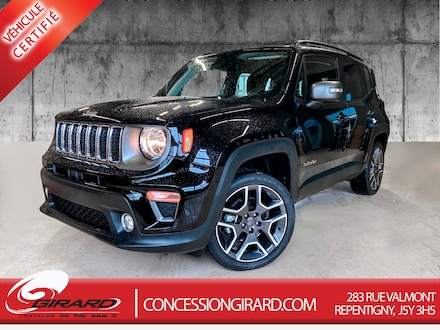 2019 Jeep Renegade LIMITED*TOIT MY SKY*CUIR*GPS*TURBO* 4x4