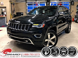 2014 Jeep Grand Cherokee OVERLAND*TOIT PANORAMIQUE*GPS*CUIR*HITCH*4X4* VUS