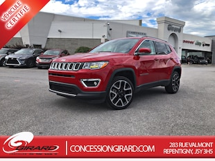 2019 Jeep Compass LIMITED*TOIT PANO*CUIR*NAV*MAGS* VUS