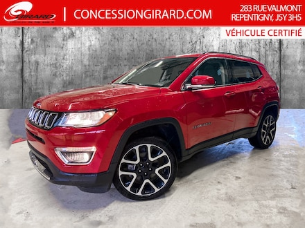 2019 Jeep Compass LIMITED*TOIT PANO*CUIR*NAV*MAGS 19''* 4x4