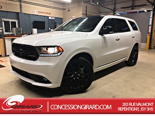 2018 Dodge Durango GT*PLAN OR*BLACKTOP+TOIT+DVD+GPS** VUS