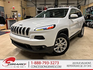 2016 Jeep Cherokee NORHT*PLAN OR 4 ANS/80 000 KM*HITCH*BLUETOOTH* VUS