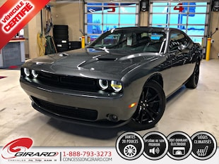 2018 Dodge Challenger SXT PLUS*BLACKTOP*TOIT*AUDIO ALPINE*MAGS 20'' Coupe