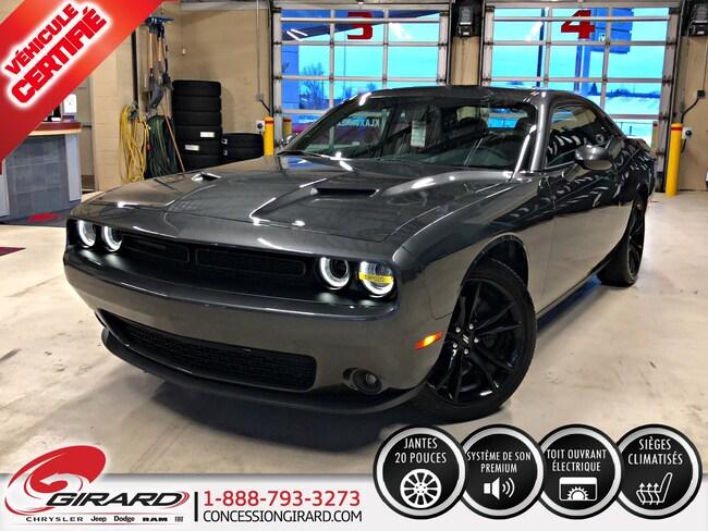 2018 Dodge Challenger SXT PLUS*BLACKTOP*TOIT*AUDIO ALPINE*MAGS 20'' Coupé