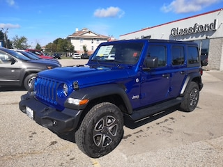 New 2020 Jeep Wrangler Unlimited Sport S SUV 20-011 for sale in Ingersoll, ON