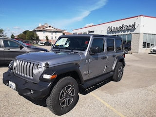 New 2020 Jeep Wrangler Unlimited Sport S SUV 20-013 for sale in Ingersoll, ON