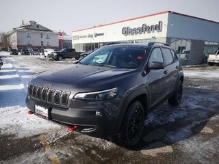 New 2020 Jeep Cherokee Trailhawk Elite SUV 20-045 for sale in Ingersoll, ON