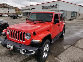 New 2020 Jeep Wrangler Unlimited Sahara SUV 20-124 for sale in Ingersoll, ON