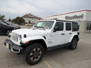 New 2020 Jeep Wrangler Unlimited Sahara SUV 20-012 for sale in Ingersoll, ON
