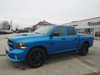 New 2019 Ram 1500 Classic Express Hydro Blue Truck Crew Cab for sale near you in Ingersoll, ON