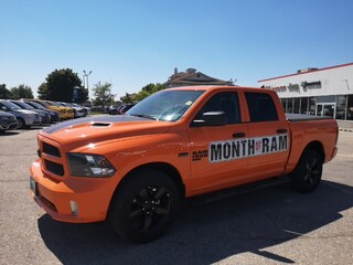 2019 Ram 1500 Classic Express Ignition Orange Truck Crew Cab for sale near you in Ingersoll, ON