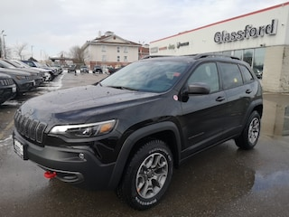 New 2020 Jeep Cherokee Trailhawk Elite SUV 20-055 for sale in Ingersoll, ON
