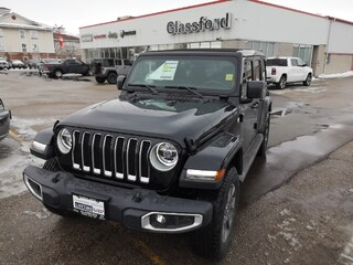 New 2019 Jeep Wrangler Unlimited Sahara SUV for sale near you in Ingersoll, ON