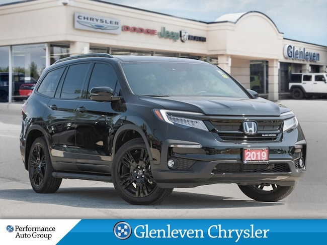 2019 Honda Pilot Black Edition AWD Leather DVD Navigation SUV