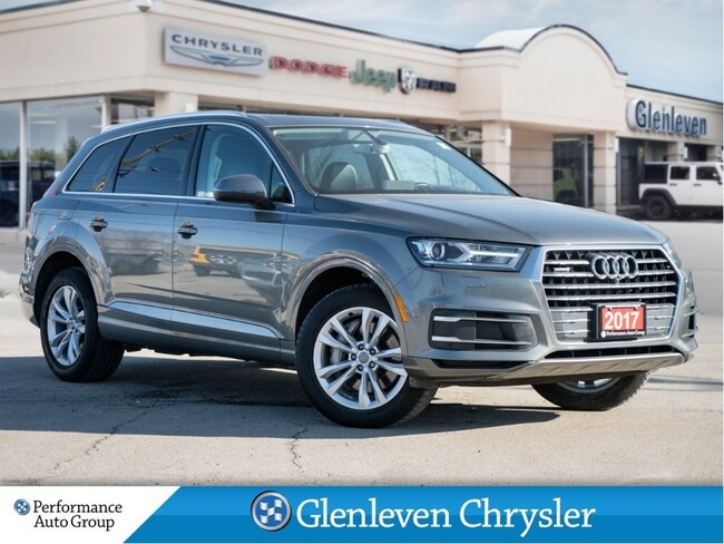 2017 Audi Q7 Progressiv Quattro Leather Navigation Pano Roof SUV