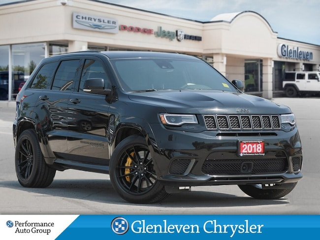 2018 Jeep Grand Cherokee Trackhawk Leather Pano Roof Harman Kardon SUV