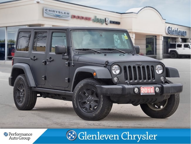 2016 Jeep Wrangler Unlimited Rubicon Dual Tops Navigation max tow Alpine Audio SUV
