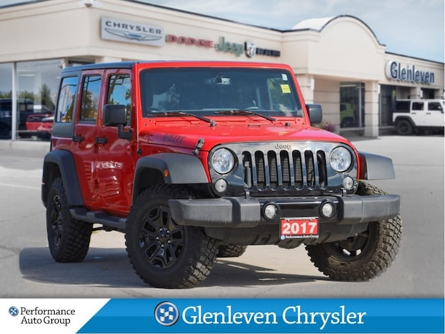 2017 Jeep Wrangler Unlimited Willys Edition Hardtop A/C Side Steps SUV