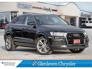 2017 Audi Q3 Progrssiv Pano Roof Leather Navigation SUV