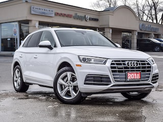 2018 Audi Q5 Progressiv Leather Panoramic Roof Navigation SUV