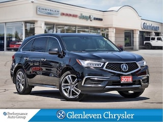 2018 Acura MDX Navigation Leather Sunroof SUV