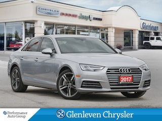 2017 Audi A4 Tecknik Quattro AWD Leather Sunroof Navigation Sedan