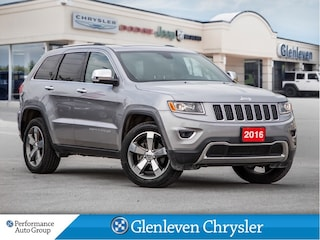 2016 Jeep Grand Cherokee Limited Leather Sunroof Remote Start SUV